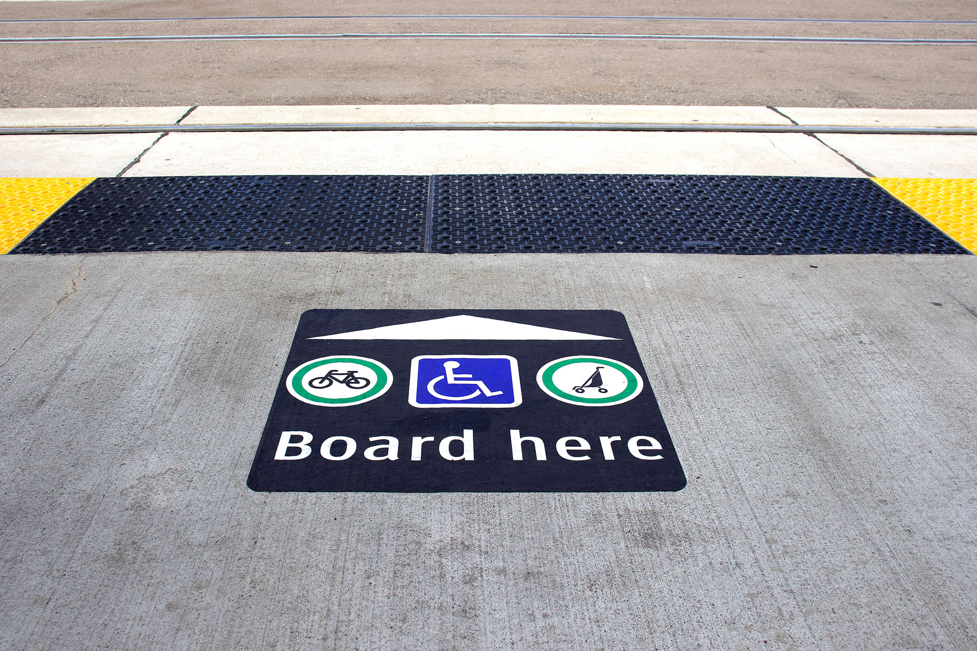 Accessible Point of Entry for Transit
